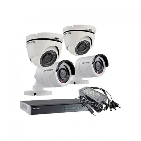 Pack Vidéosurveillance HIKvision 4 voies