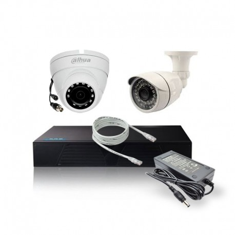 Pack Vidéosurveillance LS-A4 + 2 Caméras.