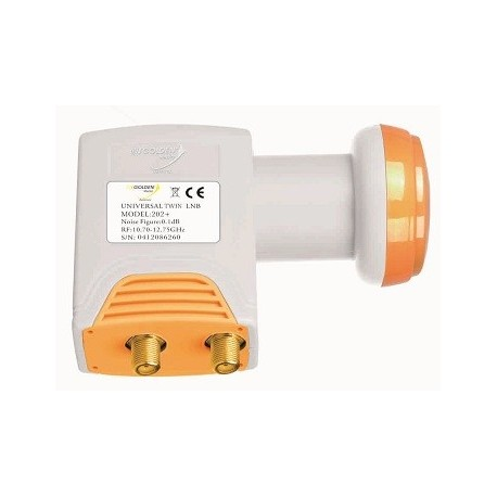 LNB Twin Golden Media 0.2db