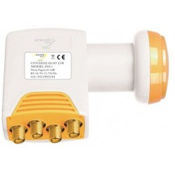 LNB Quad Golden Media